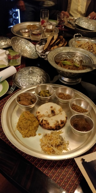 Thali full of Rampuri Cuisine